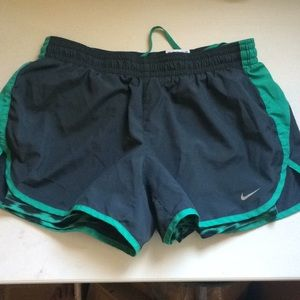 Nike Dri-Fit with compression shorts